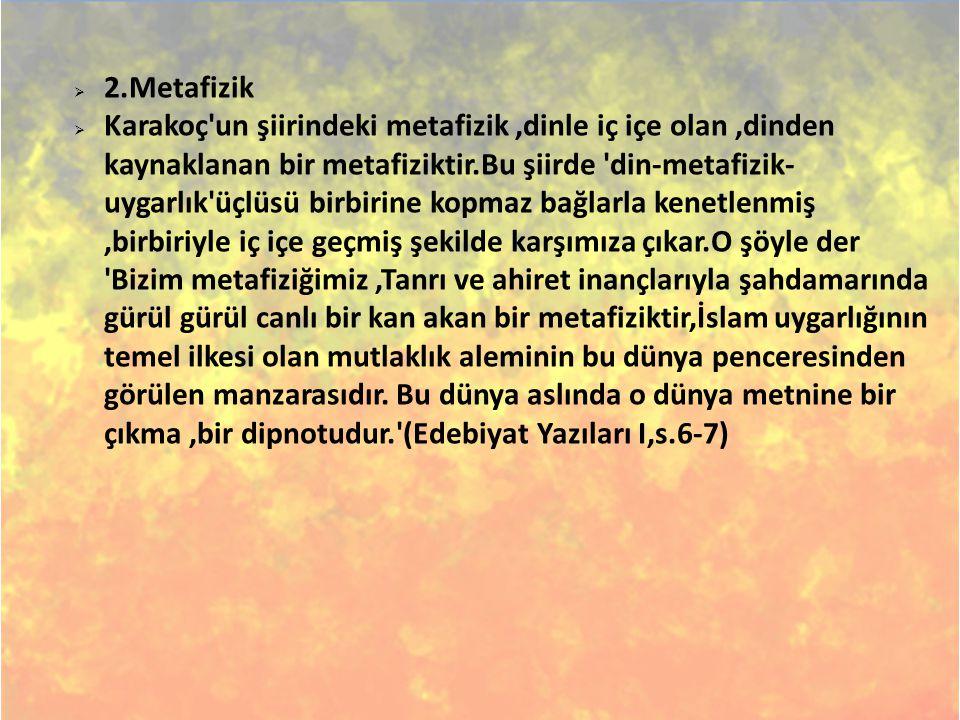 2.Metafizik