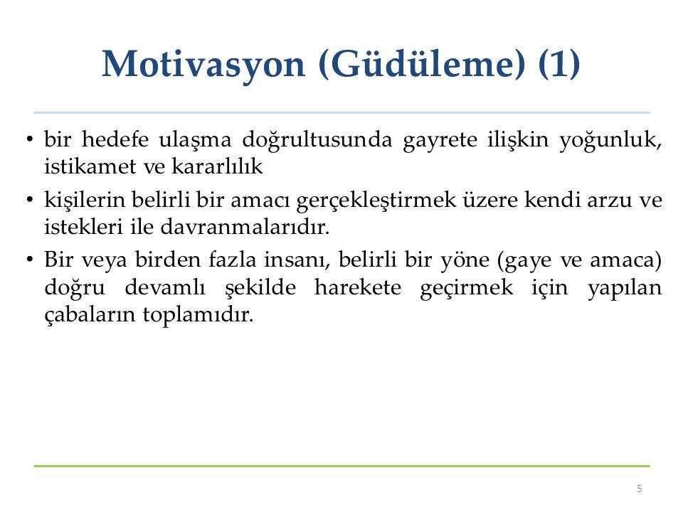 Motivasyon (Güdüleme) (1)