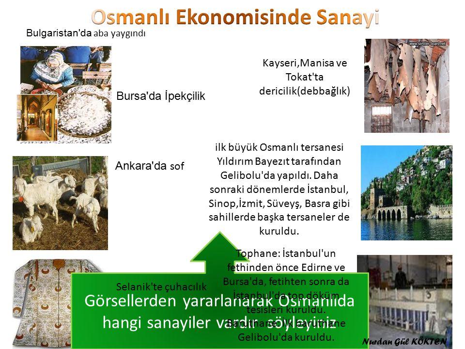 Osmanlı Ekonomisinde Sanayi