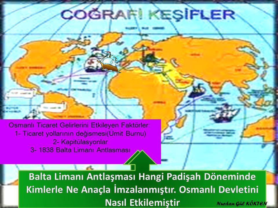 Osmanlı Ticaret Gelirlerini Etkileyen Faktörler Nelerdir