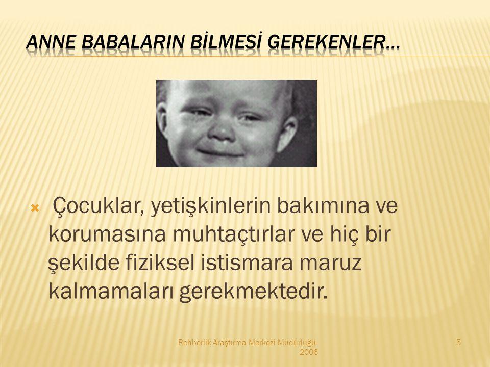 ANNE BABALARIN BİLMESİ GEREKENLER...