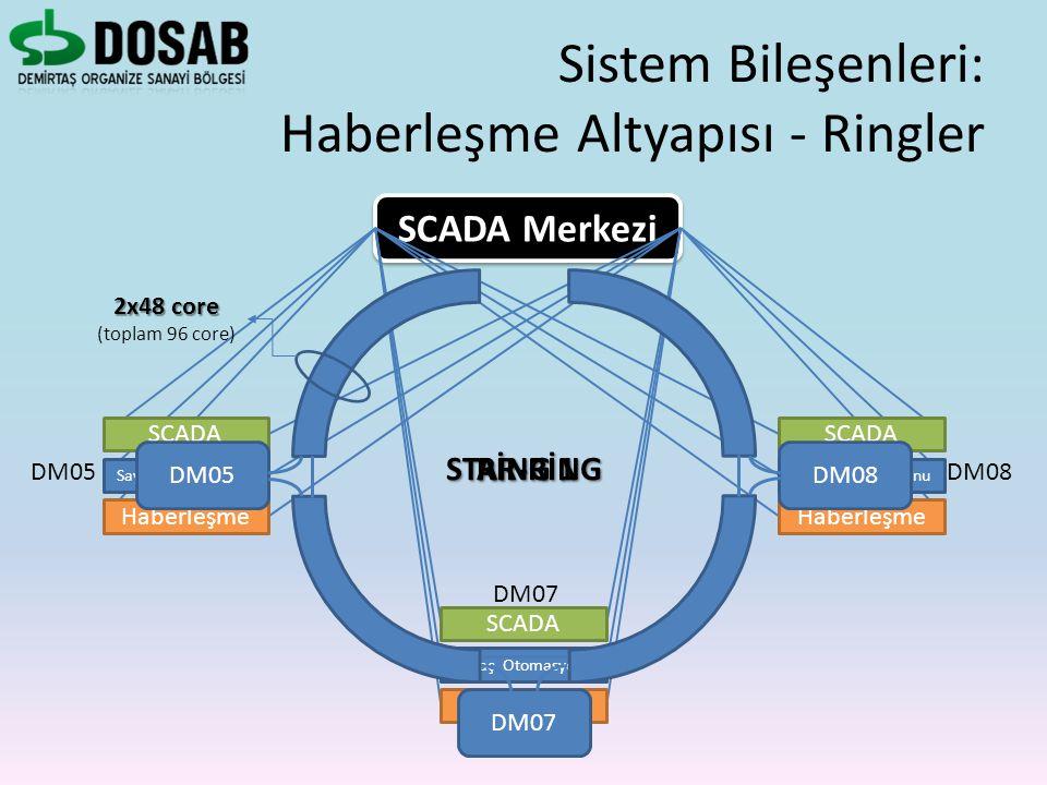 Sistem Bileşenleri: Haberleşme Altyapısı - Ringler