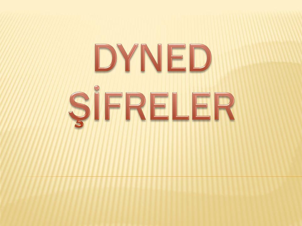 DYNED ŞİFRELER