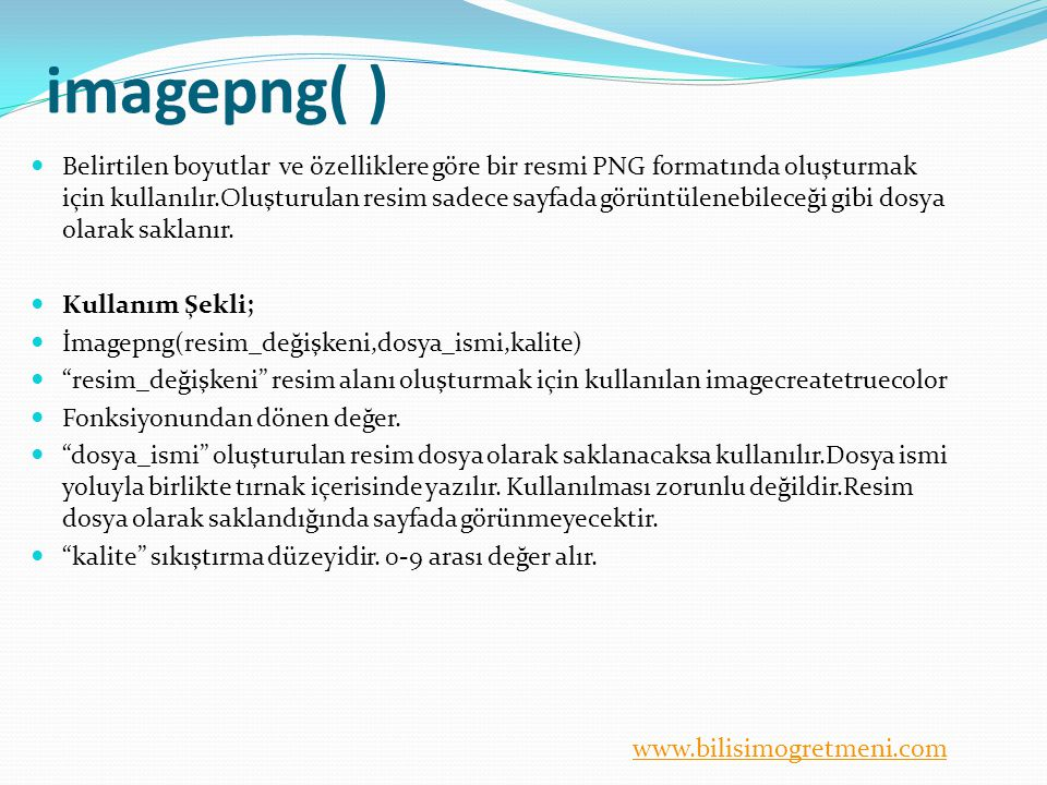 imagepng( )