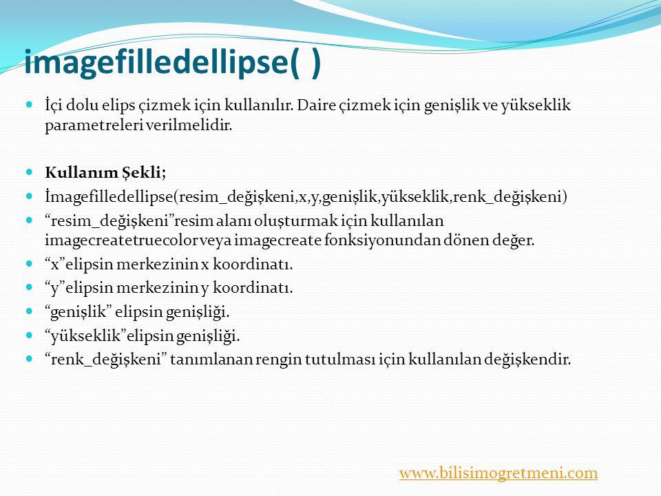 imagefilledellipse( )