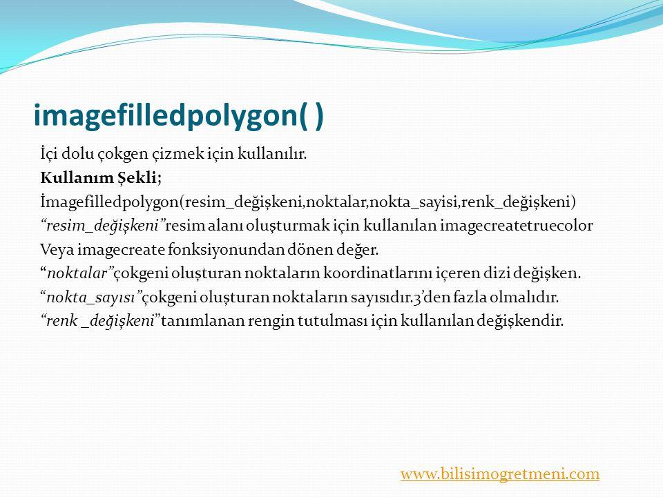 imagefilledpolygon( )