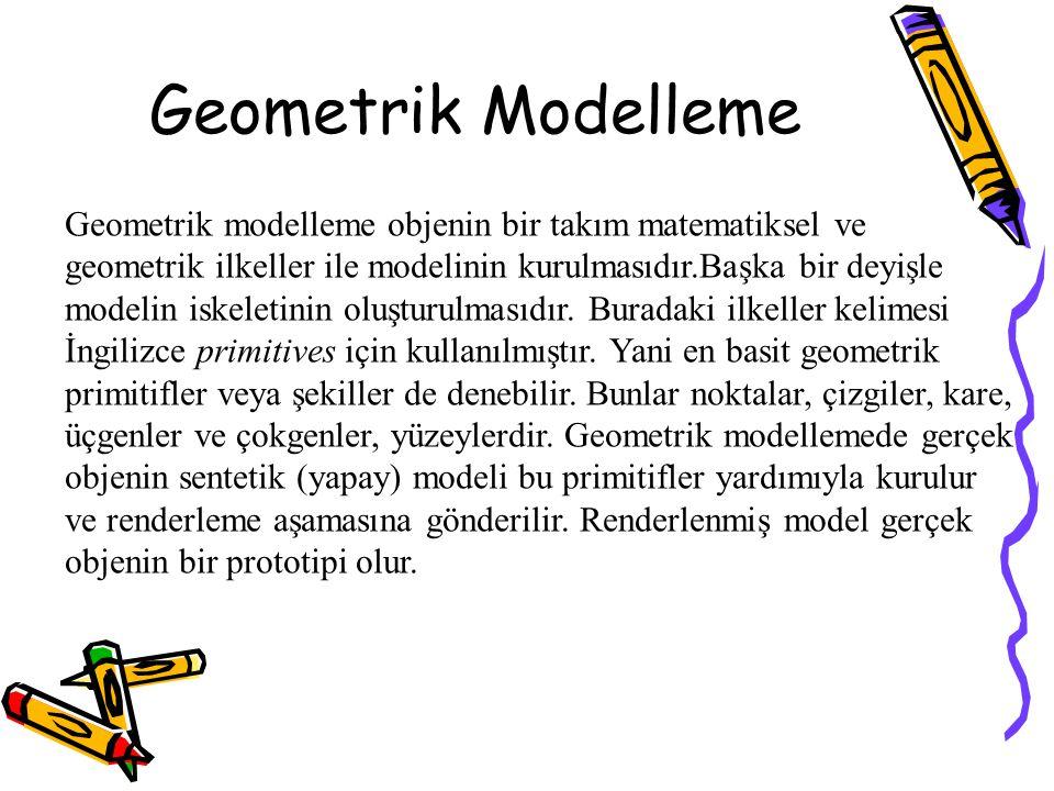 Geometrik Modelleme