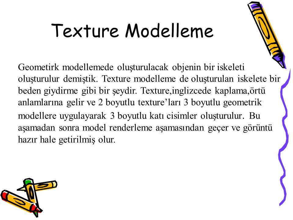 Texture Modelleme