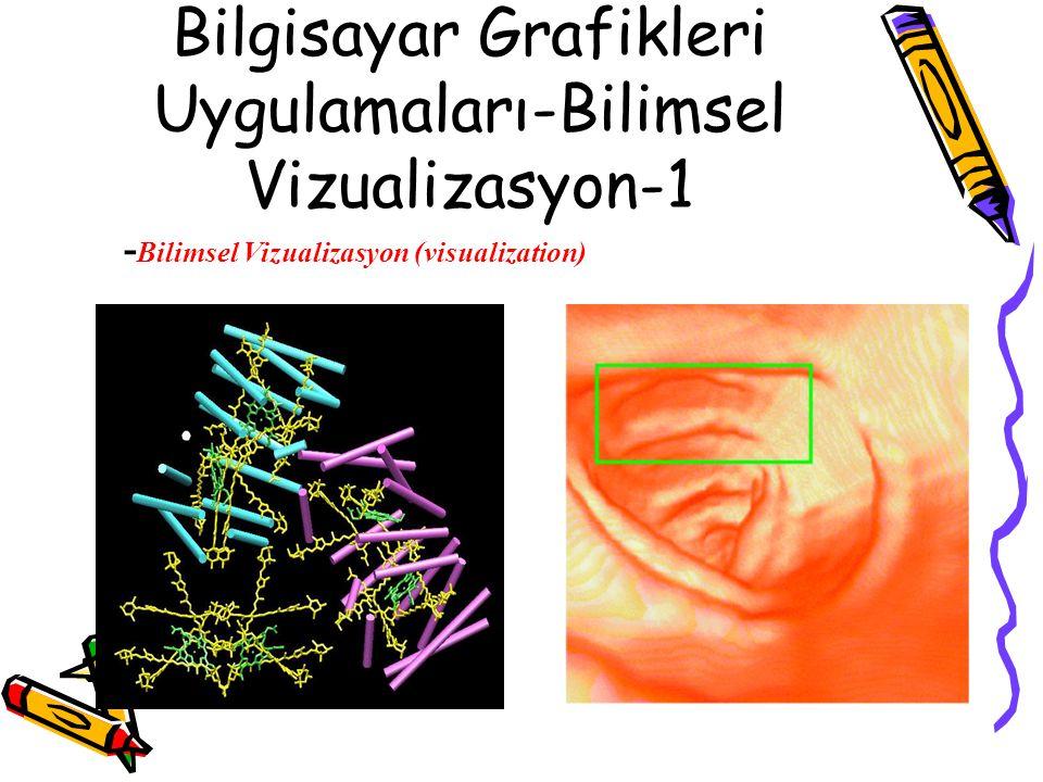 Bilgisayar Grafikleri Uygulamaları-Bilimsel Vizualizasyon-1