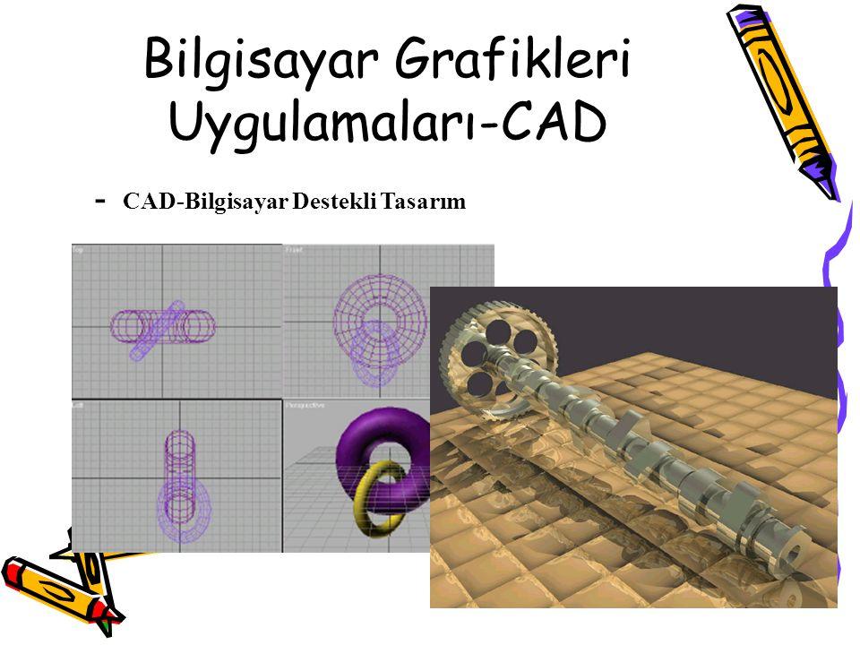 Bilgisayar Grafikleri Uygulamaları-CAD