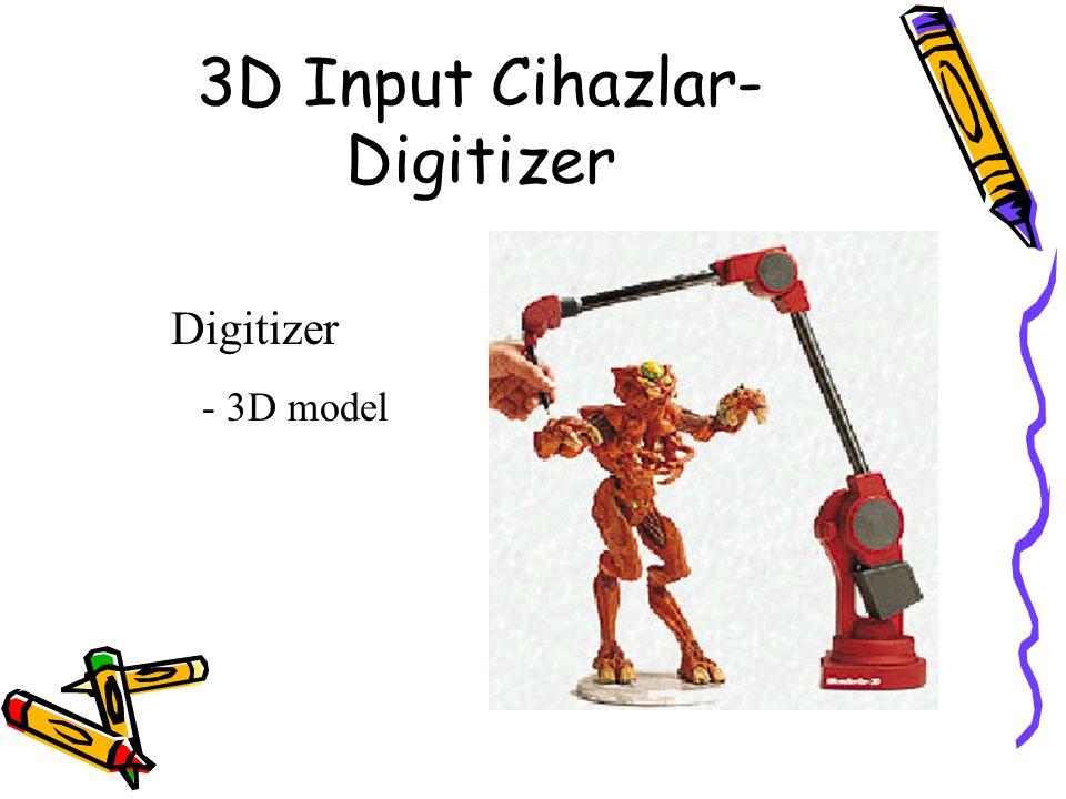 3D Input Cihazlar-Digitizer