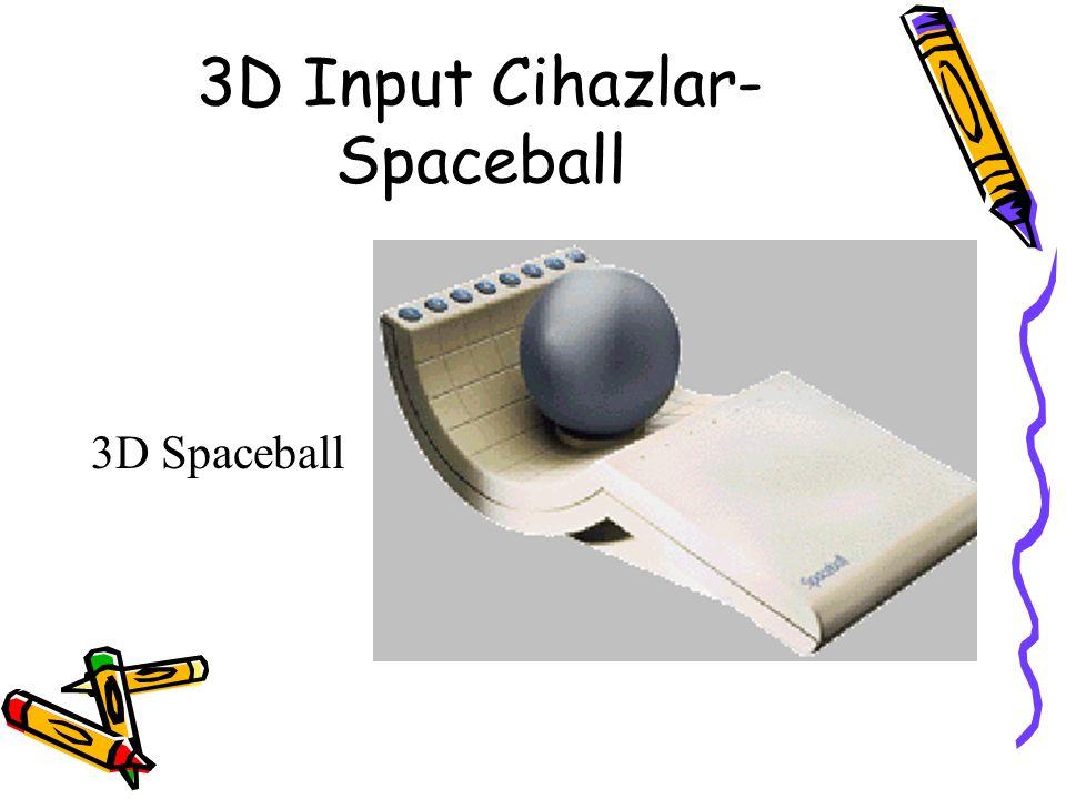 3D Input Cihazlar-Spaceball