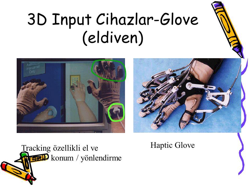 3D Input Cihazlar-Glove (eldiven)