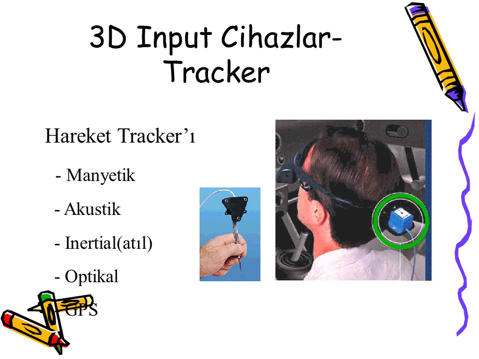 3D Input Cihazlar-Tracker