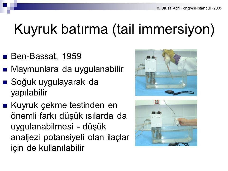 Kuyruk batırma (tail immersiyon)
