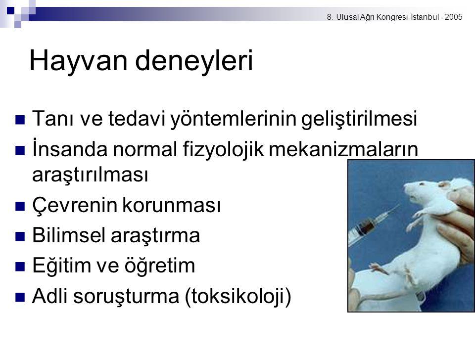 8. Ulusal Ağrı Kongresi-İstanbul - 2005