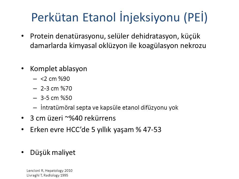 Perkütan Etanol İnjeksiyonu (PEİ)