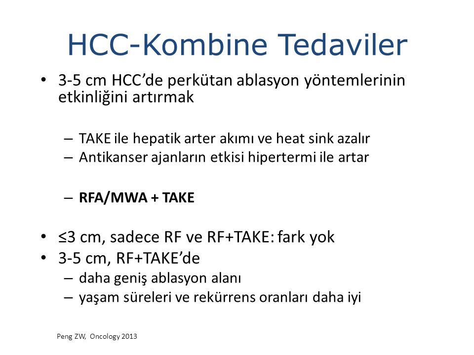 HCC-Kombine Tedaviler