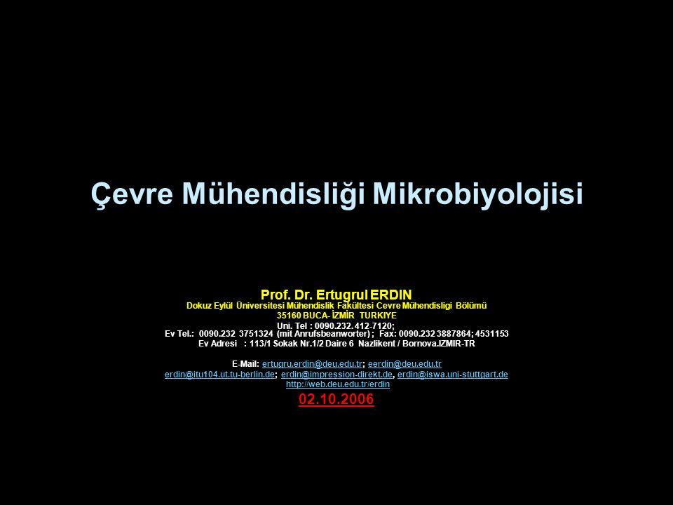 Çevre Mühendisliği Mikrobiyolojisi