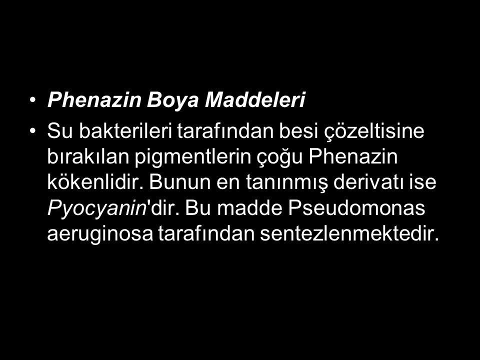 Phenazin Boya Maddeleri