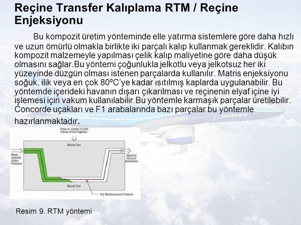 Reçine Transfer Kalıplama RTM / Reçine Enjeksiyonu