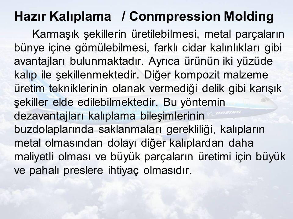 Hazır Kalıplama / Conmpression Molding