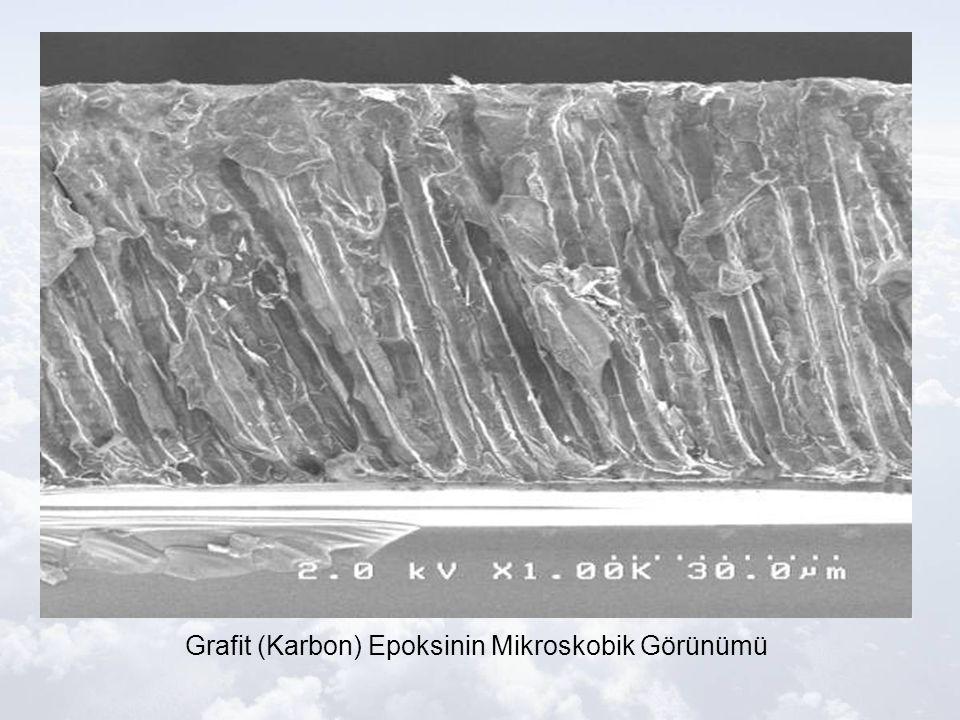 Grafit (Karbon) Epoksinin Mikroskobik Görünümü