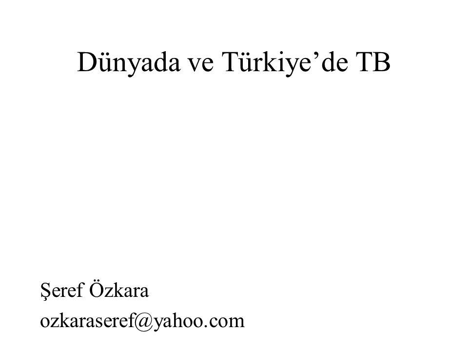 Dünyada ve Türkiye'de TB