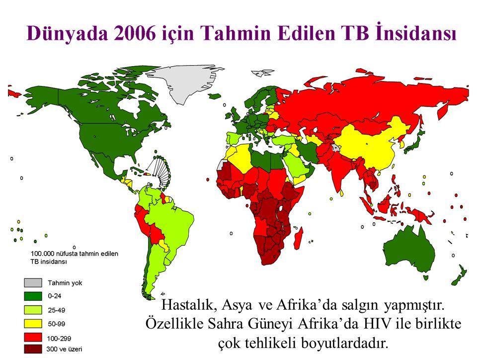 Hastalık, Asya ve Afrika'da salgın yapmıştır