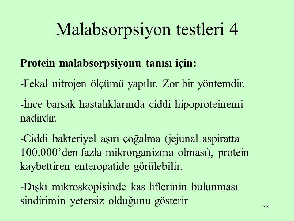 Malabsorpsiyon testleri 4