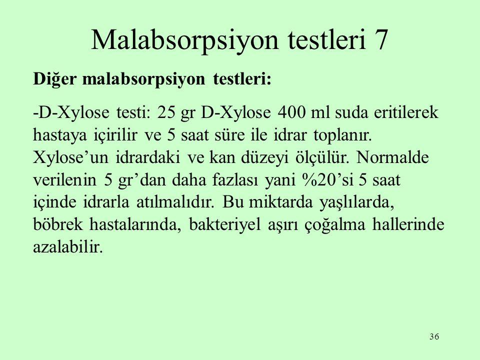 Malabsorpsiyon testleri 7