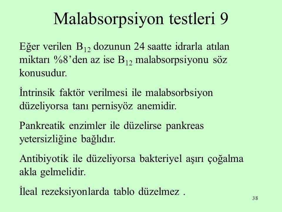Malabsorpsiyon testleri 9
