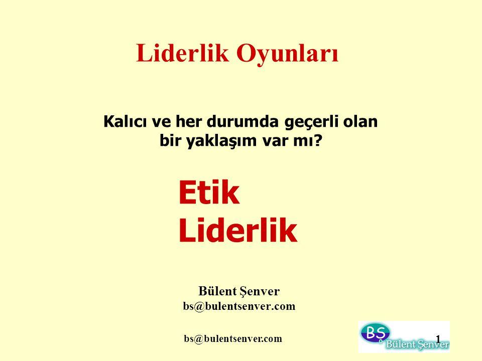 Bülent Şenver bs@bulentsenver.com