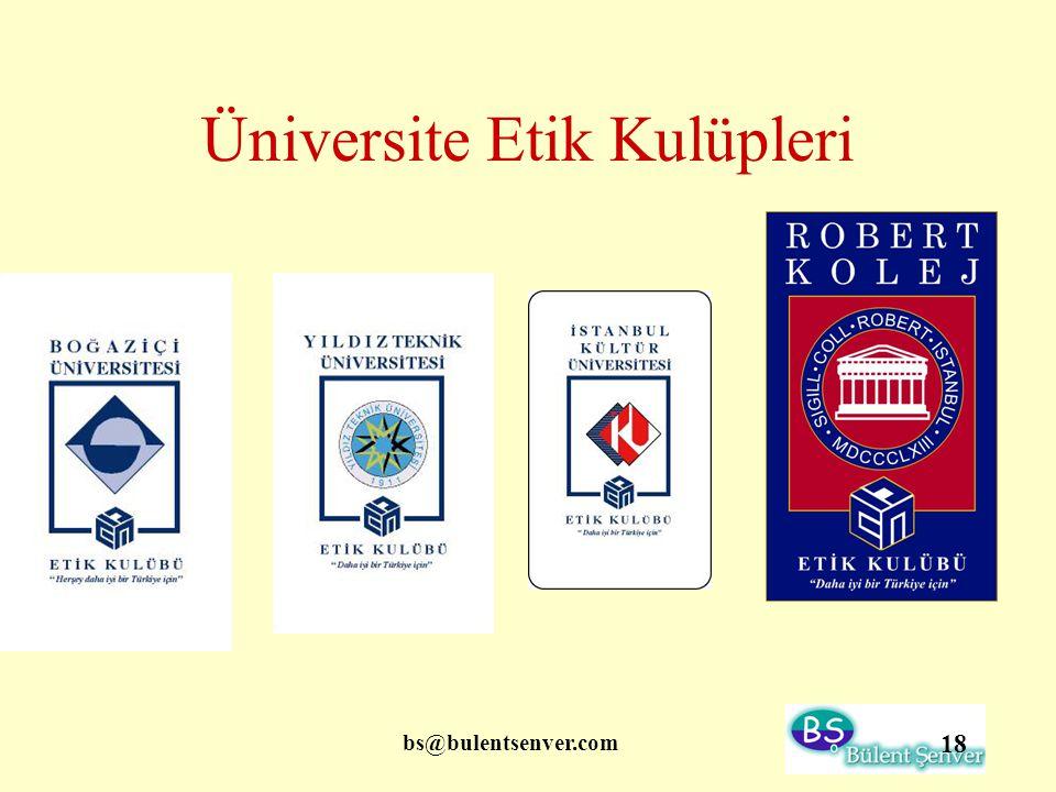 Üniversite Etik Kulüpleri
