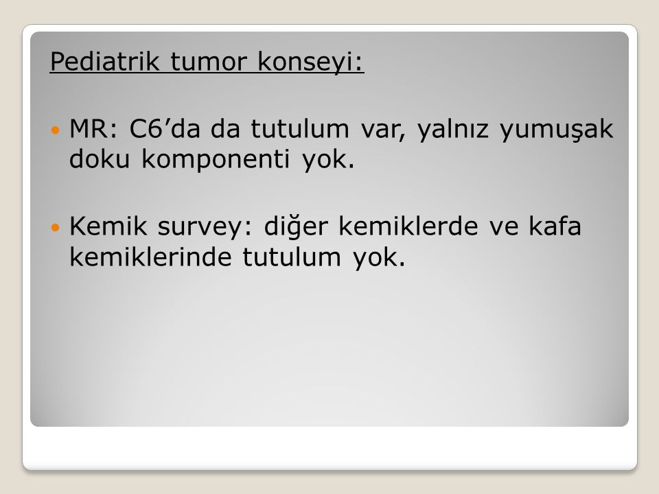 Pediatrik tumor konseyi: