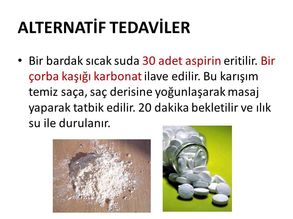 ALTERNATİF TEDAVİLER