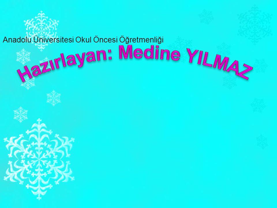 Hazırlayan: Medine YILMAZ