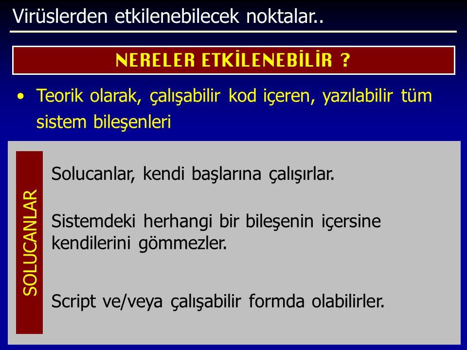NERELER ETKİLENEBİLİR