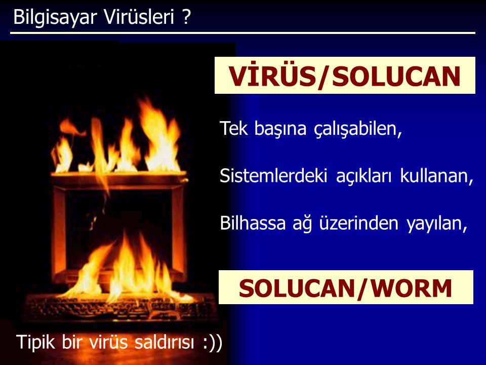 Tipik bir virüs saldırısı :))