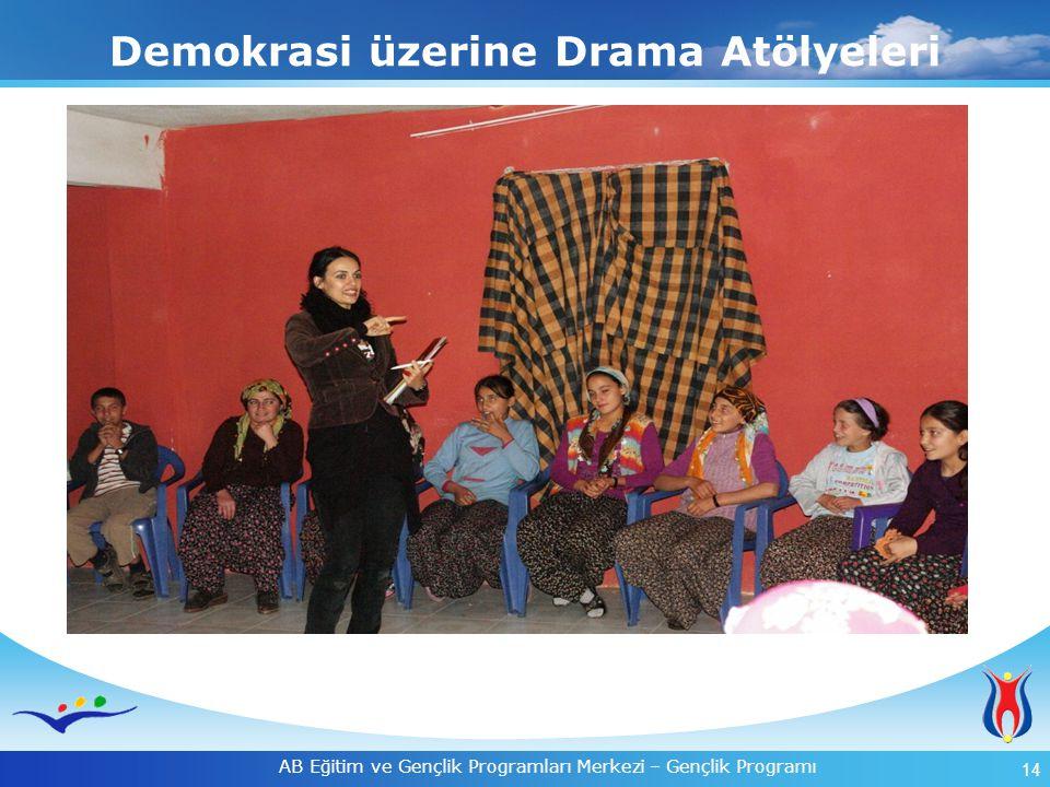 Demokrasi üzerine Drama Atölyeleri