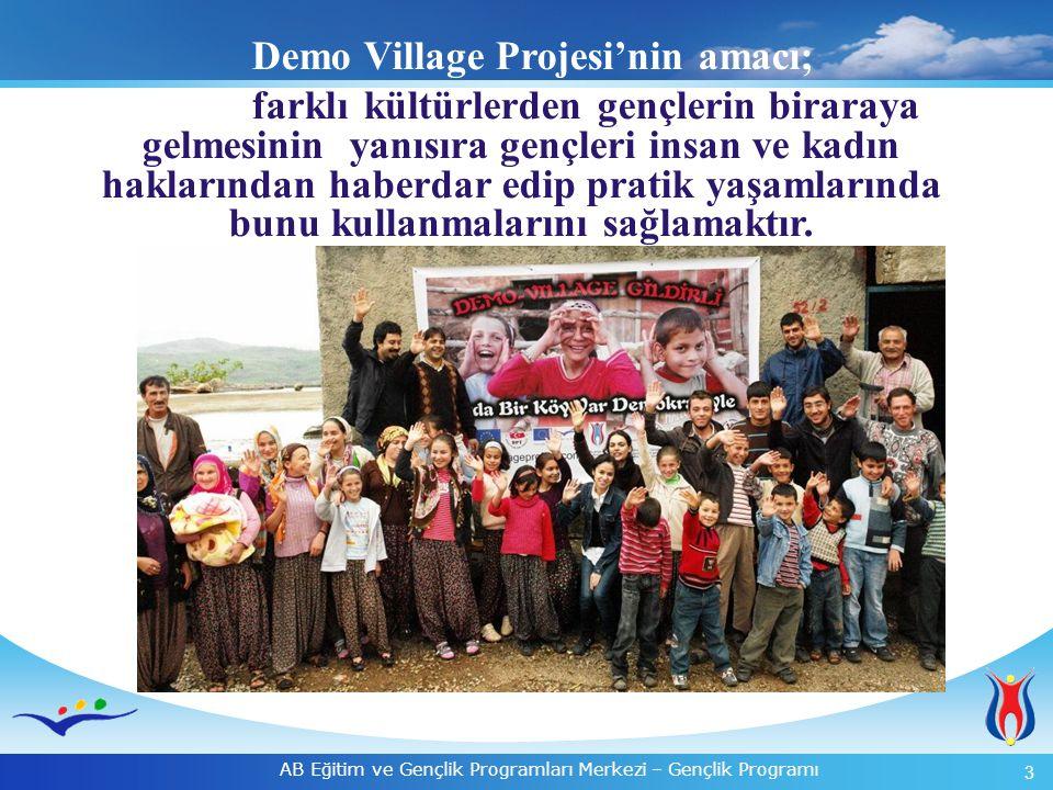 Demo Village Projesi'nin amacı;