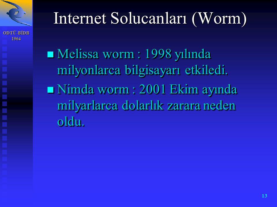 Internet Solucanları (Worm)