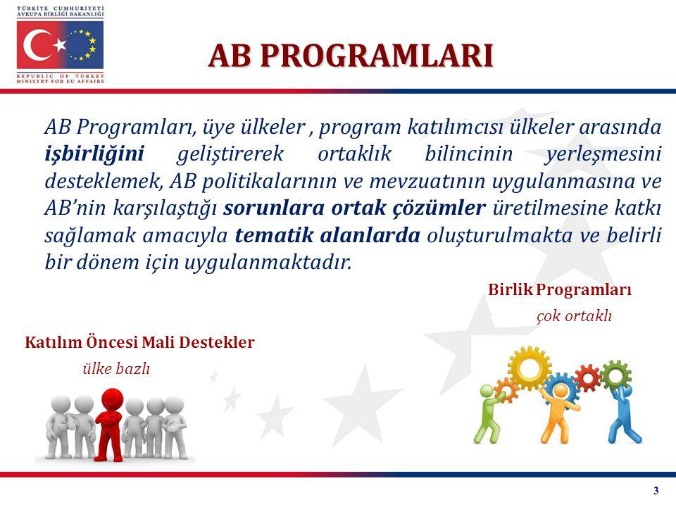 AB PROGRAMLARI