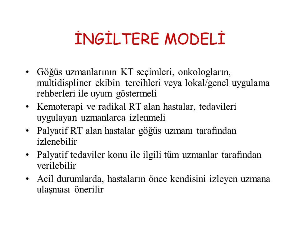 İNGİLTERE MODELİ