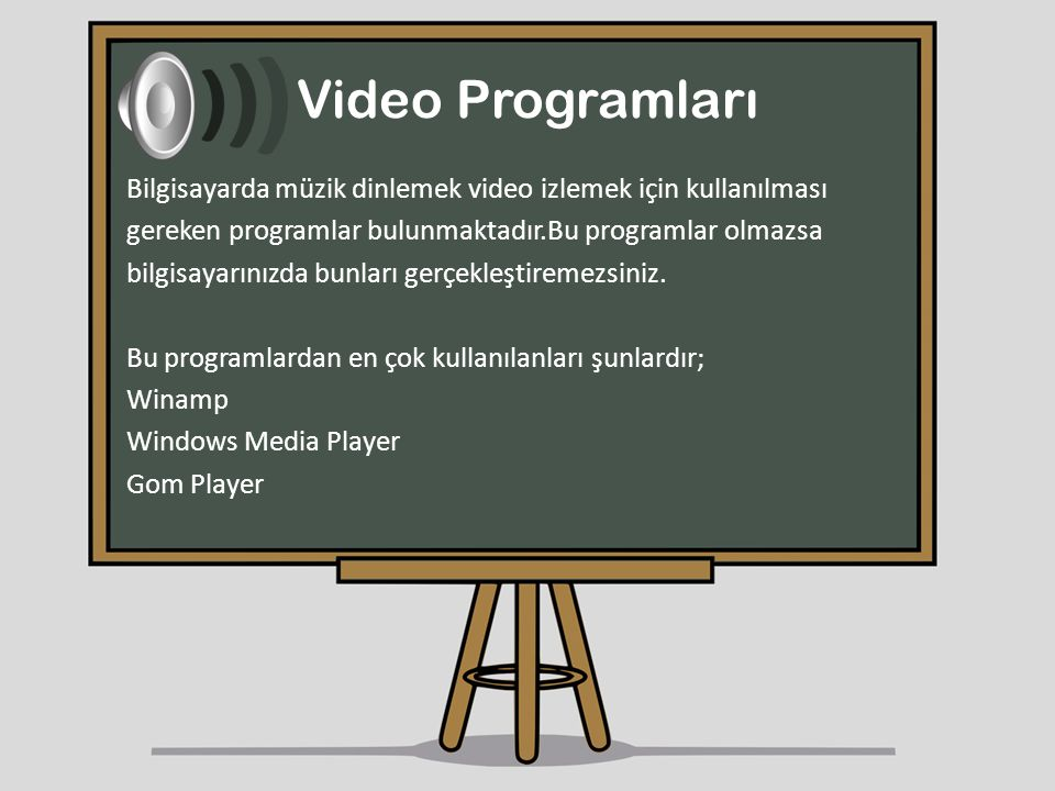 Video Programları