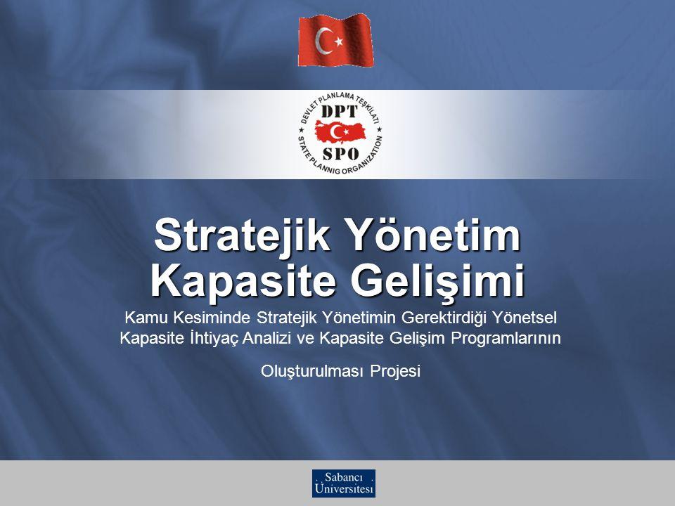 Stratejik Yönetim Kapasite Gelişimi