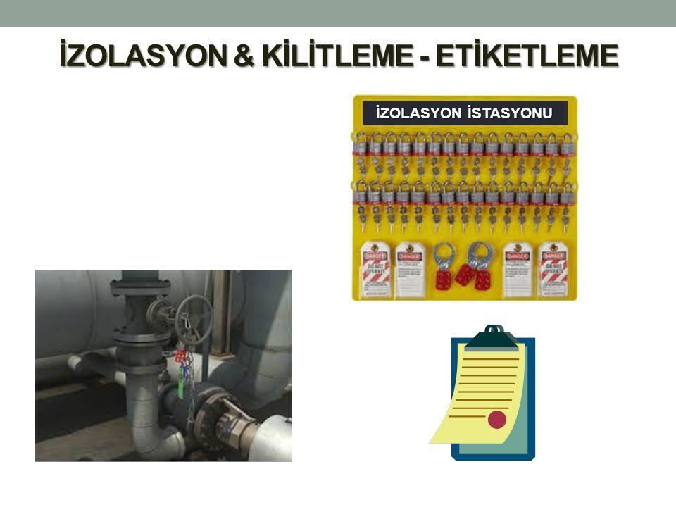 İZOLASYON & KİLİTLEME - ETİKETLEME