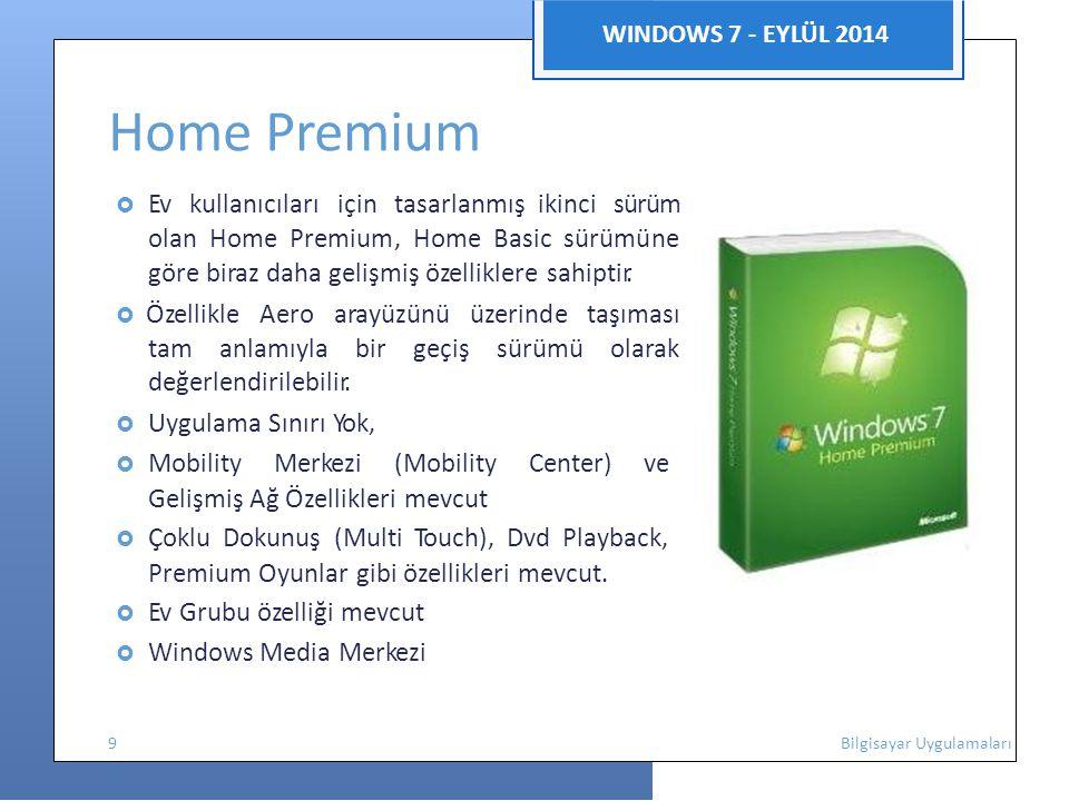 Home Premium Gelişmiş Ağ Özellikleri mevcut