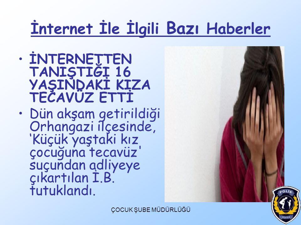 İnternet İle İlgili Bazı Haberler