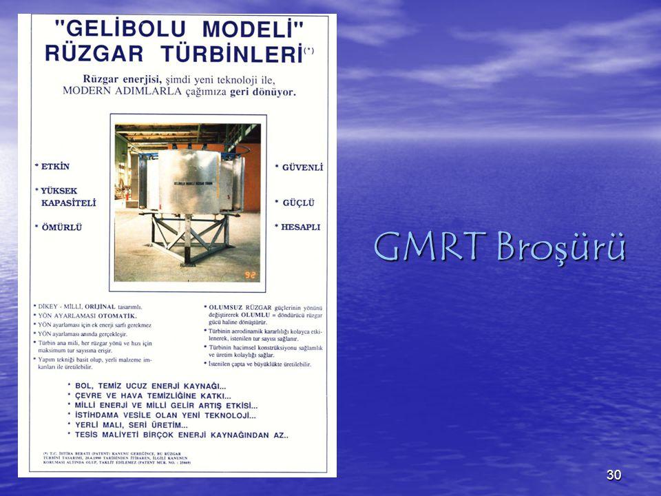 GMRT Broşürü